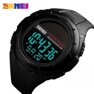 SKMEI 1405 Solar Power Men Digital Watch Sport Watches
