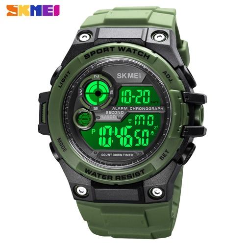 SKMEI 1759 Men Digital Countdown Multifunction Watches